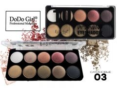 Тени DO DO GIRL Diamond 10 Color, 10 цветов, ТОН 03